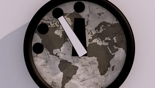 A Terra está a 3 minutos do juizo final