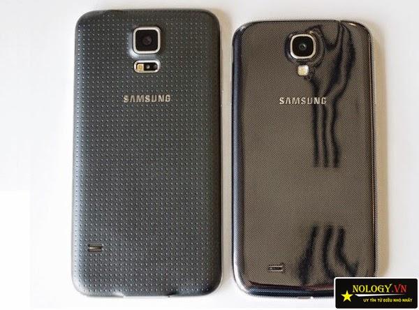Galaxy S5 và Galaxy S4.
