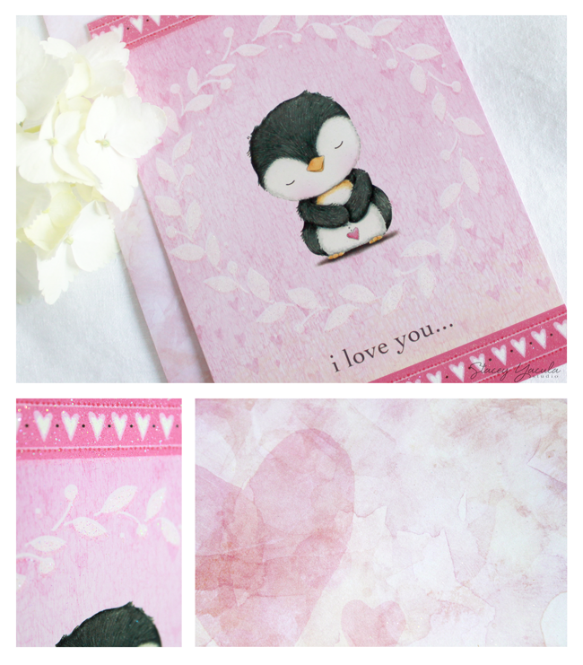 valentine's day card by Stacey Yacula & Leanin' Tree