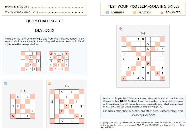 DIALOGIX Puzzles