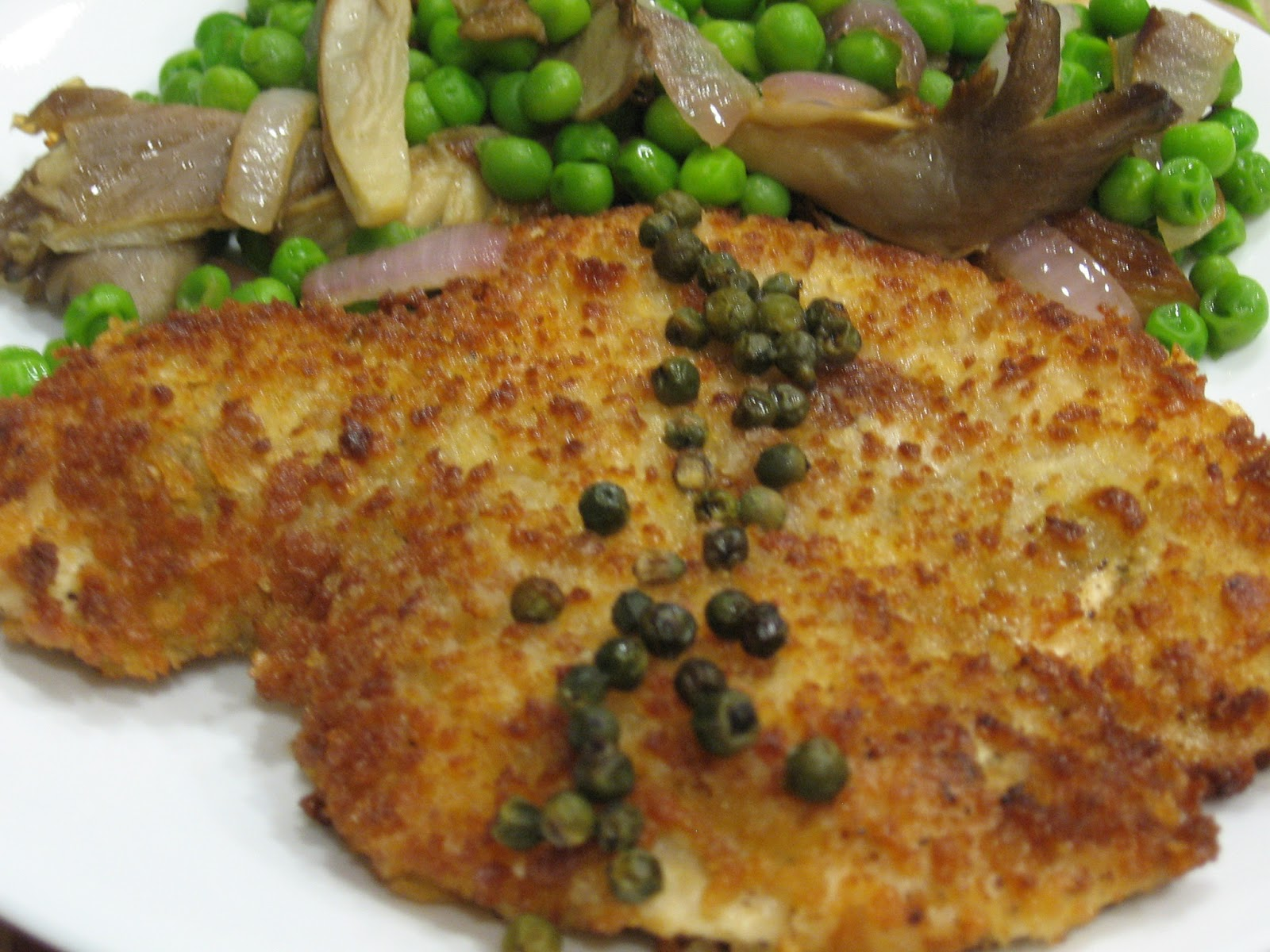 Please, DON'T pass the salt!: Low Sodium Chicken Piccata