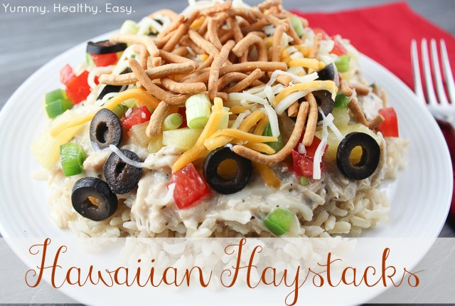 hawaiian haystacks aka chicken sundaes yummy healthy easy
