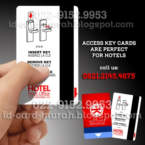 cetak kartu access key card hotel entry door electronic magnetik system