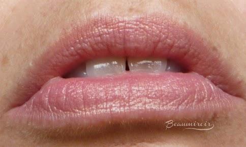Smashbox L.A. Lights in Silver Lake Sunset cream blush stick lip swatch