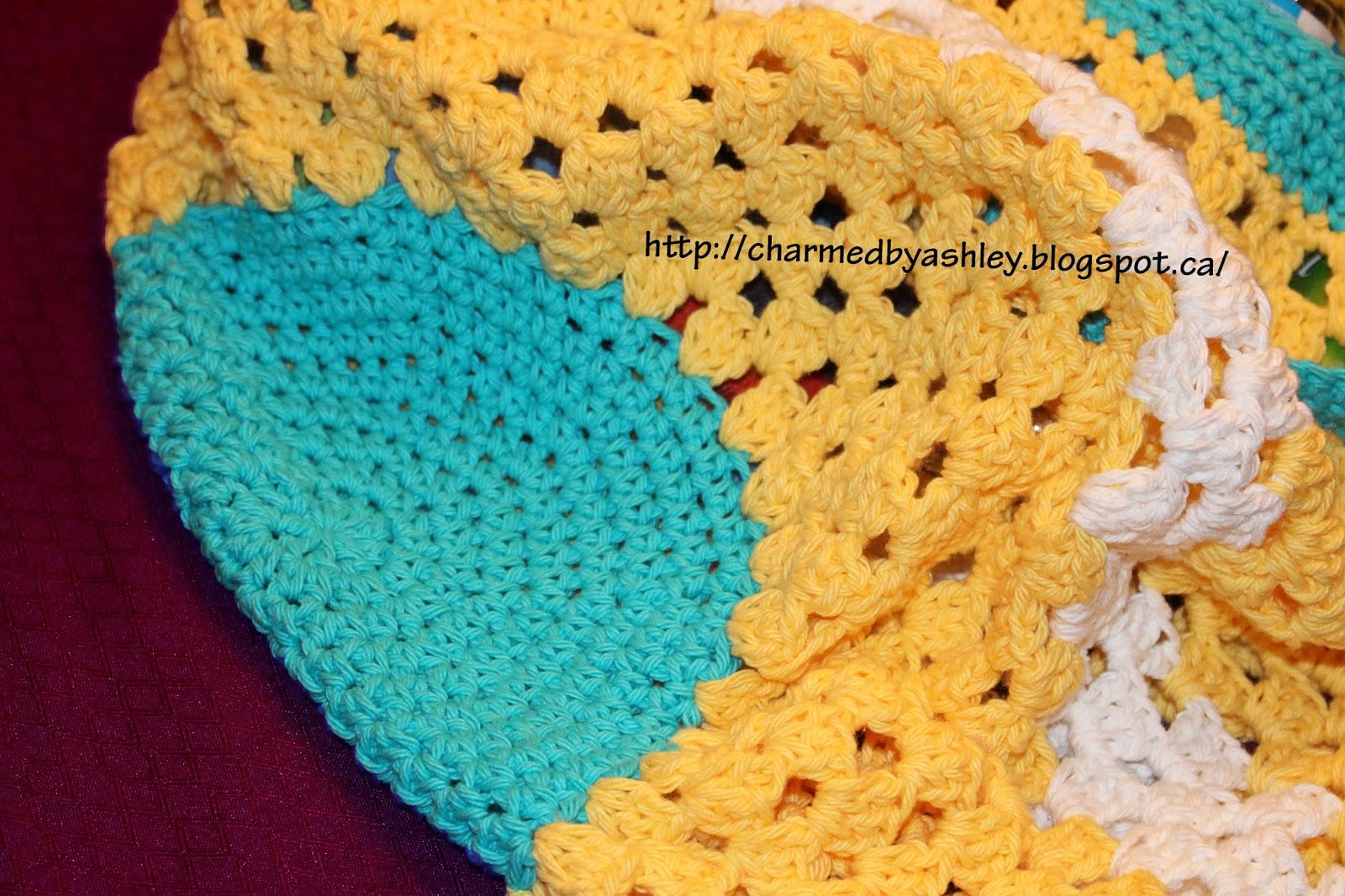 Summery Beach Bag / tote Crochet Pattern - Charmed By Ashley