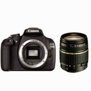 Paytm : Buy Canon EOS 1200D DSLR Camera with Tamron AF 18 – 200 mm Lens  at Rs.22,990 :buytoearn