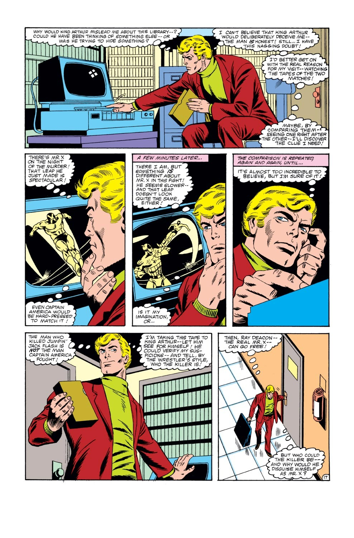 Captain America (1968) Issue #271 #187 - English 18