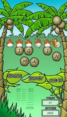 Game Android Jungle Jumble Lite: Cari Kata