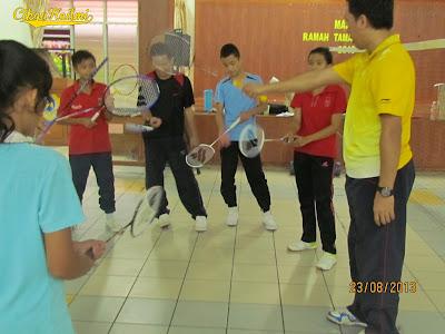 Kem 1 Murid 1 Sukan 1M1S badminton