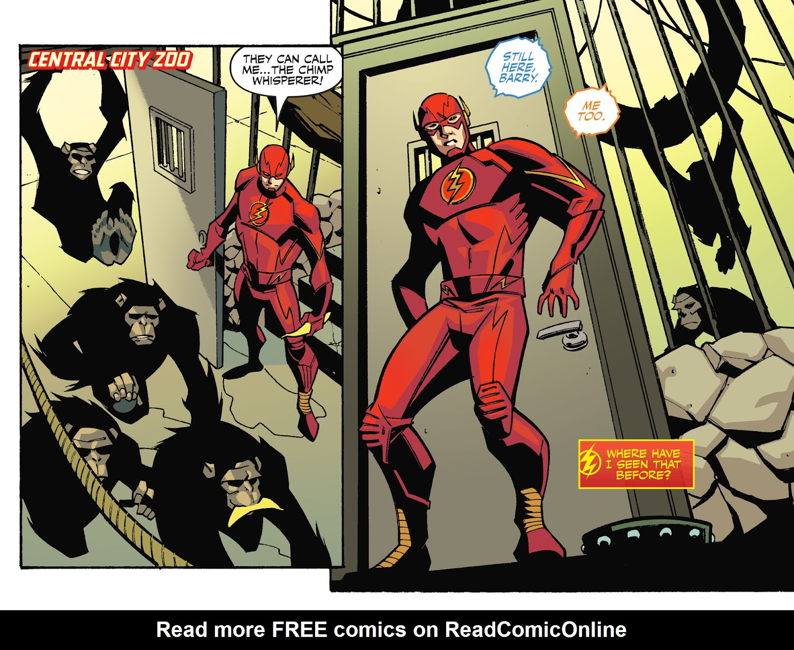 The Flash: Season Zero [I] Issue #3 #3 - English 13