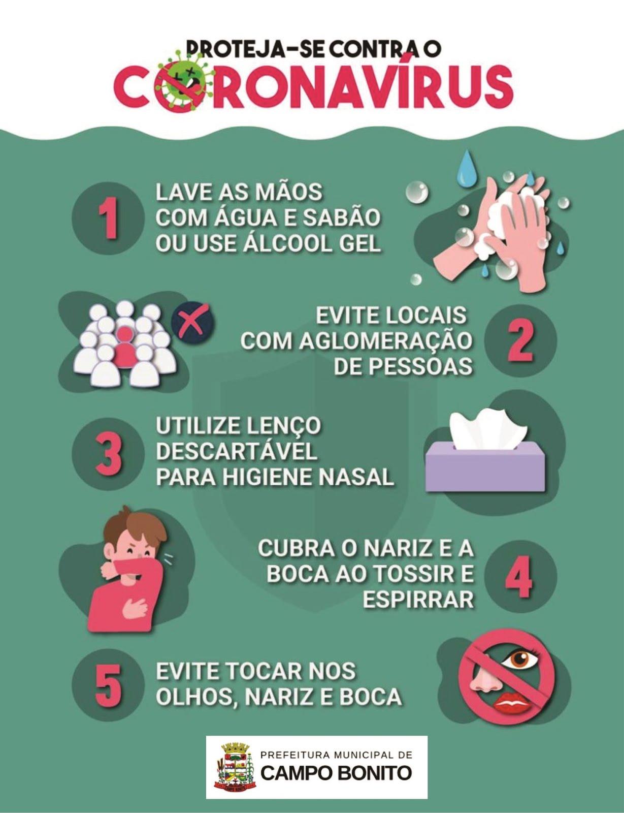 Prefeitura Campo Bonito no Combate ao Coronavírus