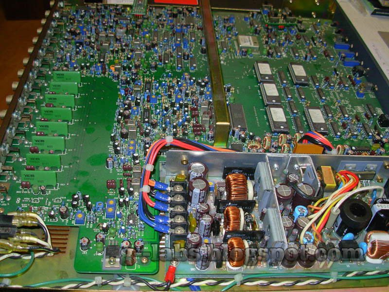 Repairing a Switch Mode Power Supply to revive an old video ...