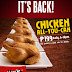 MAX's Chicken-All-You-Can is BACK!!