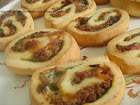 Pinwheels aux Epignards, Spcialit Nord-Amricaine! / Spinach Pinwheels, North American Specialty!