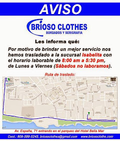 BRIOSO CLOTHES-BORDADO Y SERIGRAFIA