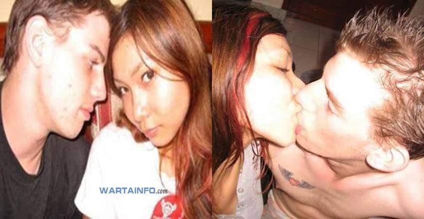Foto skandal Ciuman bibir Hot penuh nafsu Meychan Artis penyanyi Indonesia yang beredar di internet