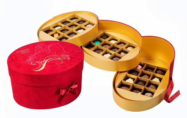 Godiva 2014 Chinese New Year Limited Collection Chocolates