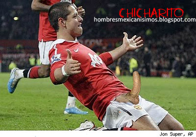 Javier Hernandez Chicharito Naked