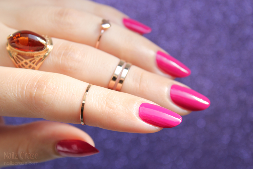 From Square to Almond - Nailz Craze