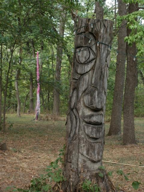 Tree God and May Pole