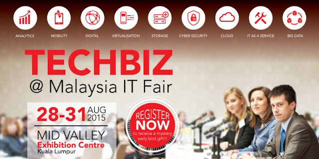 First TechBiz @ Malaysia IT Fair, TechBiz, Malaysia IT Fair, largest it fair in malaysia