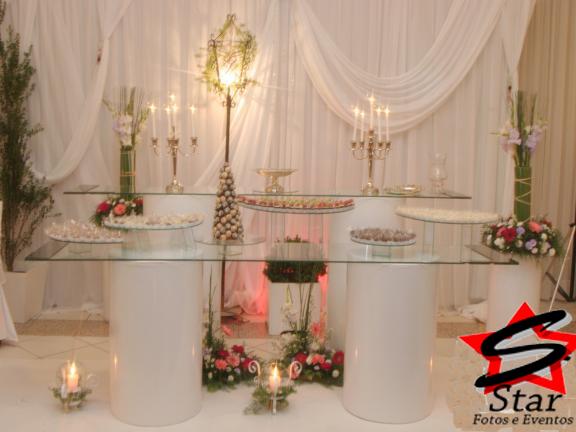Giovana Decoraç u00e3o em Joinville Decoraç u00e3o com mesa de vidro 47 30264086