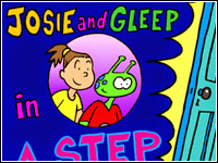 """English with Mariluz: JOSIE AND GLEEP: """"STEP BACK IN TIME"""""""