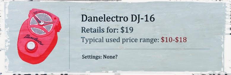 Danelectro DJ-16 Mini Amp & Distortion