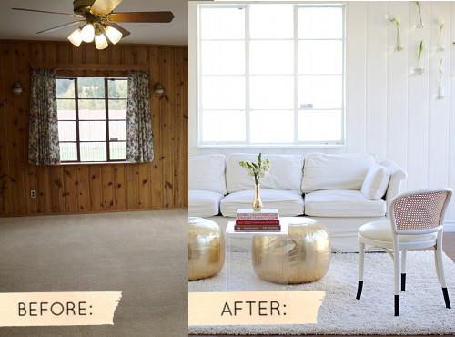 antes e depois, blog de decoração