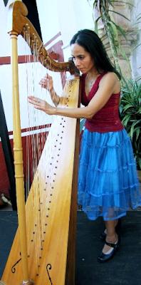 Barbara Ceron -  Harpist