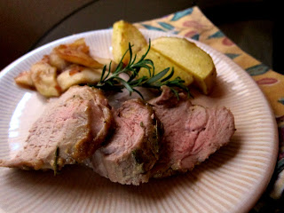 Fall Flavors: Maple Mustard Pork Tenderloin with Caramelized Apples