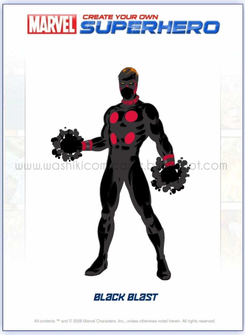 how to create my own superhero