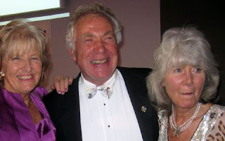 Gordon King and Jilly Cooper