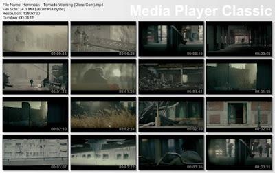 Hammock - Tornado Warning - HD 1080p Free Music Video Download