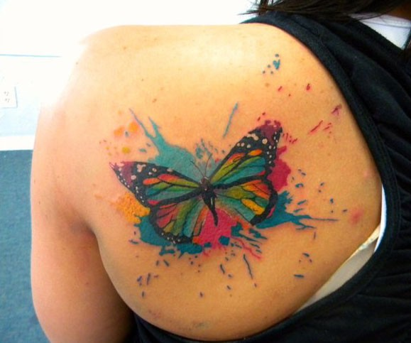 14 Most Beautiful Butterfly Tattoos (3D) For Girls