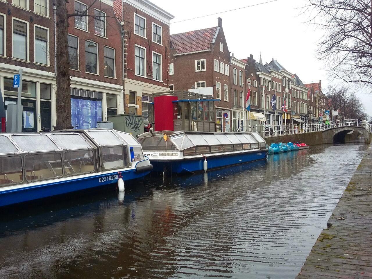 Salah satu sudut kota Delft, Belanda