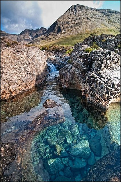 The Hebrides The Fairy Pools