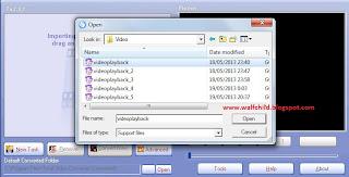 Cara merubah format video menjadi Audio