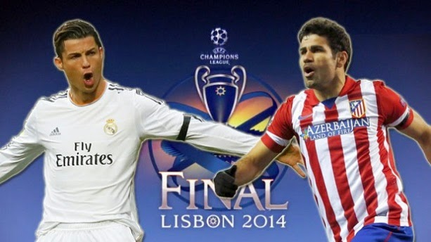 Real Madrid Atletico Finala Champions League 2014 24 mai