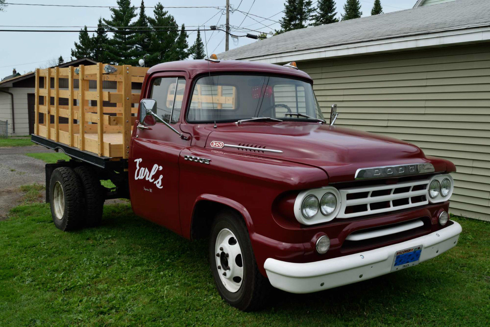 all american classic cars 1959 dodge d300 truck. Black Bedroom Furniture Sets. Home Design Ideas