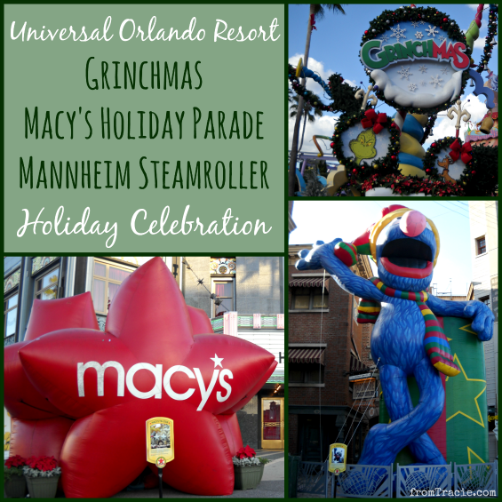 Holiday Celebration at Universal Orlando Resort