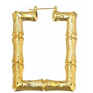 Bamboo Gold Earrings4