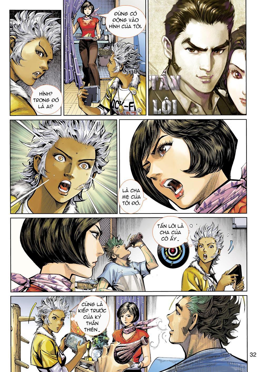 Thần Binh 4 chap 16 - Trang 32