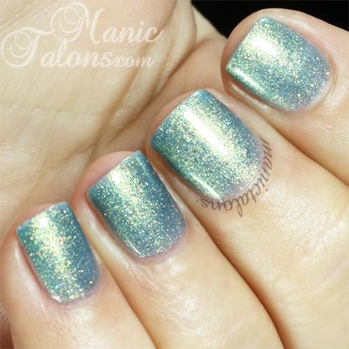 Gloss & Glitter Nymph Swatch