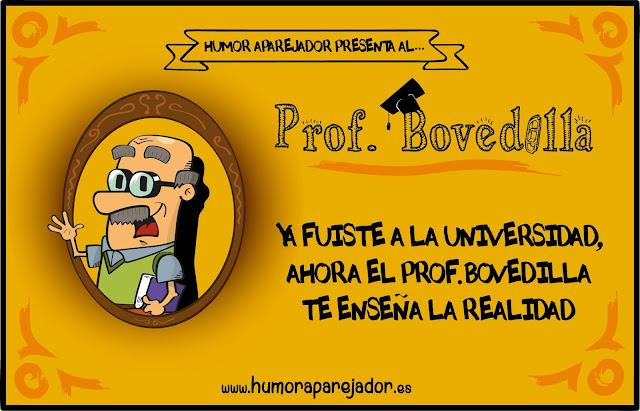 profesor bovedilla