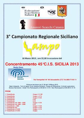 3° Campionato Regionale Siciliano Lampo