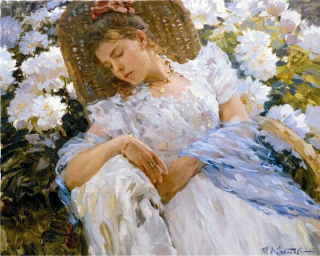 Russian Paintings Of Women