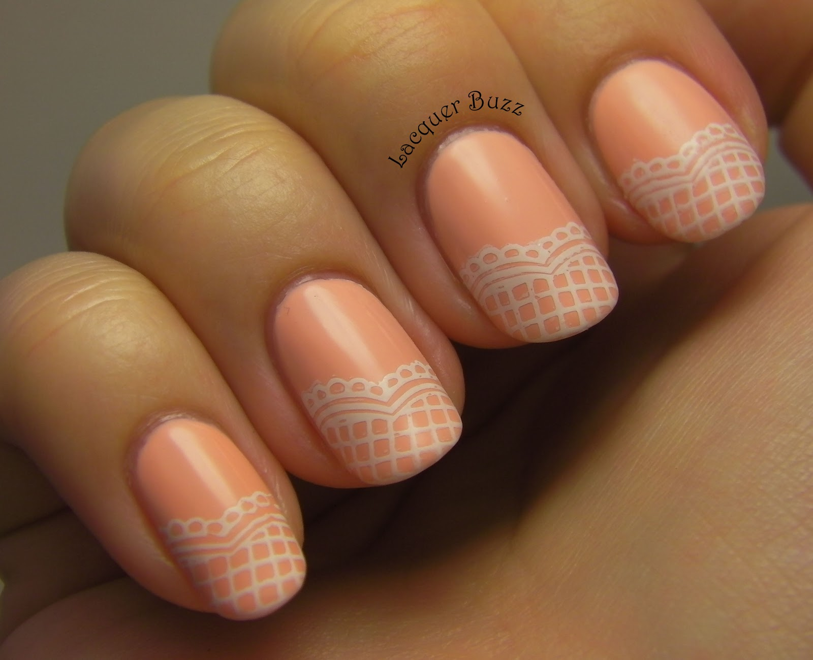 Lacquer Buzz: Girly Girl Nail Art Challenge Day 3: Delicate and ... A Crewed Interest Essie