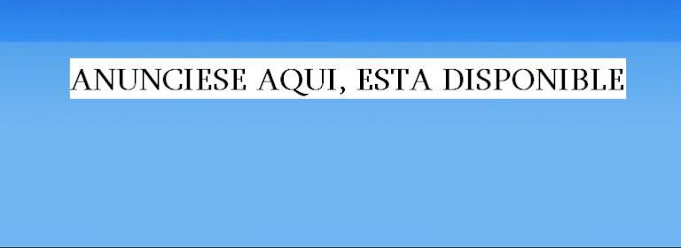 PARA HACER SU PUBLICIDAD EN ESTE ESPACIO COMUNIQUECE AL 809-720-7999 // PERIODICOELRADAR@GMAIL.COM