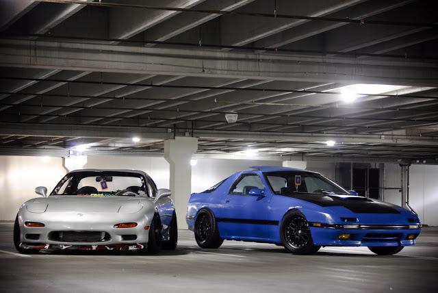 Mazda RX-7 FD & Mazda RX-7 FC wankel RWD japoński sportowy samochód popularny kultowy coupe tuning